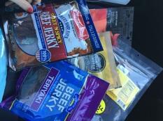 We had plenty of provisions.